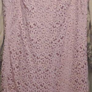 Lauren by Ralph Lauren Lace Dress.Lined